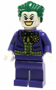 LEGO Batman LOOSE Mini Figure Joker with Lime Green Checkered Vest