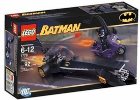 LEGO Batman Set #7779 Dragster Catwoman Pursuit This is a Small Set!