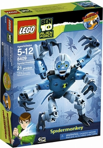 LEGO Ben 10 Alien Force Figure Set #8409 Spidermonkey