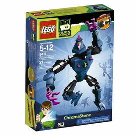 LEGO Ben 10 Alien Force Figure Set #8411 Chromastone