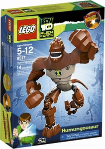 LEGO Ben 10 Alien Force Figure Set #8517 Humongousaur