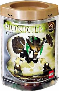 LEGO Bionicle BOHROK Figure #8560 Pahrak [Brown]