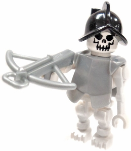 LEGO Castle LOOSE Minifigure Armored Skeleton with Crossbow