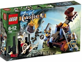 LEGO Castle Set #7091 Knight's Catapult Defense