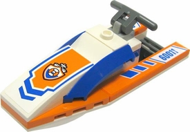 LEGO City LOOSE Accessory White, Blue & Orange Waverunner