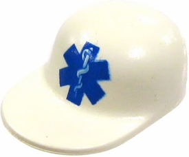 LEGO City LOOSE Accessory White EMT Cap