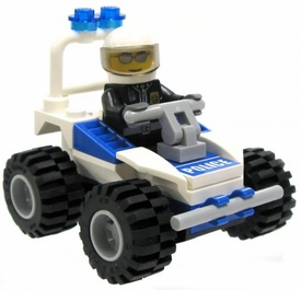 LEGO City LOOSE Mini Figure Event Police Officer on Buggy