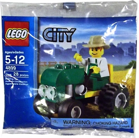 LEGO City Set #4899 Farmer with Tractor [Bagged]