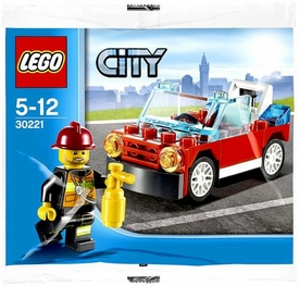 LEGO City Set #30221 Fire Car [Bagged]