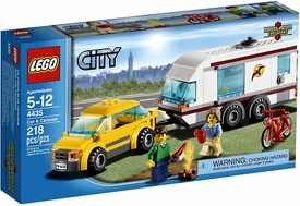 LEGO City Set #4435 Car & Caravan