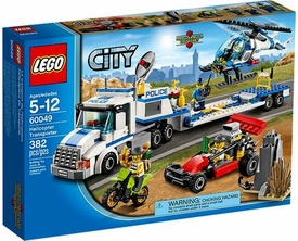LEGO City Exclusive Set #60049 Helicopter Transporter