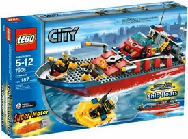 LEGO City Set #7906 Fireboat