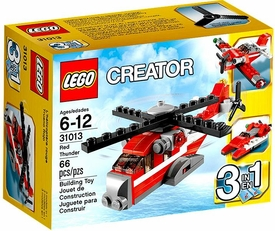 LEGO Creator Set #31013 Red Thunder