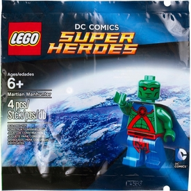 LEGO DC Comics Super Heroes Exclusive Set #5002126 Martian Manhunter [Bagged]