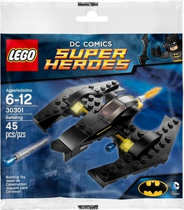 LEGO DC Comics Super Heroes Set #30301 Batwing [Bagged] New!