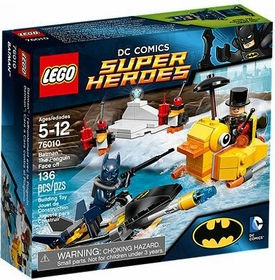LEGO DC Comics Super Heroes Set #76010 Batman: The Penguin Face Off New!