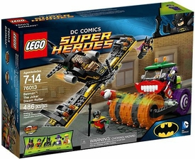 LEGO DC Comics Super Heroes Set #76013 Batman: Joker Steam Roller New!