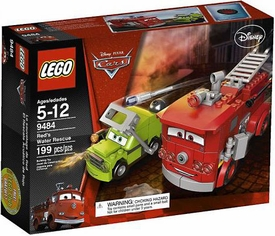 LEGO Disney Cars Set #9484 Red's Water Rescue