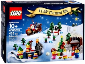 LEGO Exclusive 2013 Holiday Set #4000013 A Lego Christmas Tale