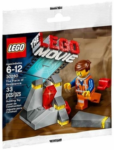LEGO The Movie Exclusive Set #30280 The Piece of Resistance {Includes Emmet!} [Bagged]