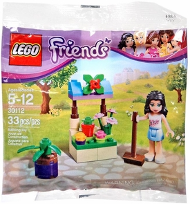 LEGO Friends Promo Set #30112 Emma's Flower Stand [Bagged]
