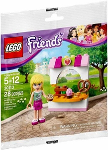 LEGO Friends Promo Set #30113 Stephanie's Bakery Stand  [Bagged]