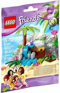 LEGO Friends Series 4 Set #41041 Turtle's Little Paradise