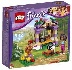 LEGO Friends Set #41031 Andrea's Mountain Hut New!