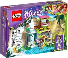 LEGO Friends Set #41033 Jungle Falls Rescue New!