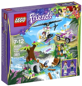 LEGO Friends Set #41036 Jungle Bridge Rescue New!