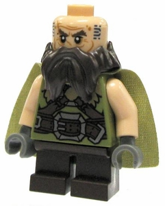 LEGO Hobbit LOOSE Mini Figure Dwalin the Dwarf