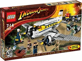 LEGO Indiana Jones Exclusive Set #7628 Peril in Peru