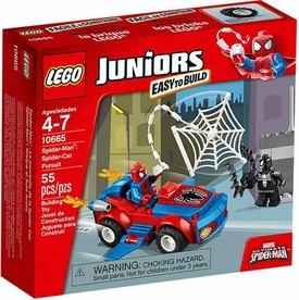 LEGO Juniors Set #10665 Spider-Man: Spider-Car Pursuit