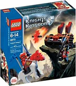 LEGO Knights Kingdom Set #8873 Fireball Catapult