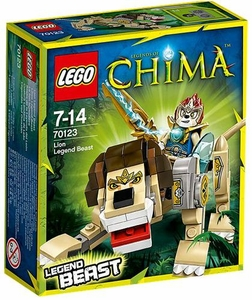 LEGO Legends of Chima Set #70123 Lion Legend Beast New!