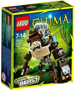 LEGO Legends of Chima Set #70125 Gorilla Legend Beast New!