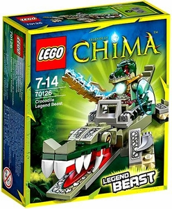 LEGO Legends of Chima Set #70126 Crocodile Legend Beast New!