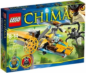 LEGO Legends of Chima Set #70129 Lavertus Twin Blade New!