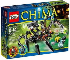 LEGO Legends of Chima Set #70130 Sparratus Spider Stalker
