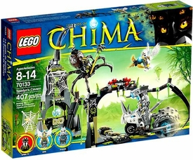 LEGO Legends of Chima Set #70133 Spinlyns Cavern