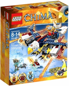 LEGO Legends of Chima Set #70142 Eris' Fire Eagle Flyer New!