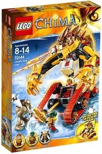 LEGO Legends of Chima Set #70144 Laval's Fire Lion
