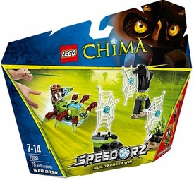 LEGO Legends of Chima Speedorz Set #70138 Web Dash New!