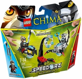 LEGO Legends of Chima Speedorz Set #70140 Stinger Duel New!