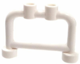 LEGO  LOOSE Accessory White Small Police Barricade