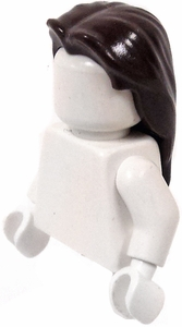 LEGO LOOSE Hair Brown Long Hair