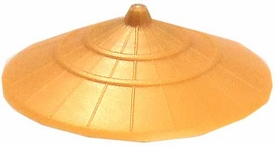 LEGO LOOSE Headgear Gold Sugegasa Hat