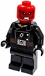 LEGO LOOSE Minifigure Red Skull with Black Mauser
