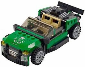 LEGO LOOSE Vehicle Green S.H.I.E.L.D. Hover Car