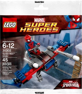 LEGO Marvel Super Heroes Exclusive Set #30302 Spider-Man Glider [Bagged]